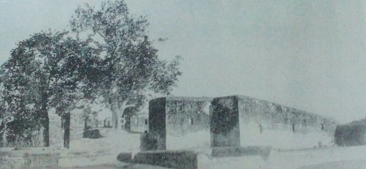 Nanasahib's palace ruins,  Bithoor, 1950s