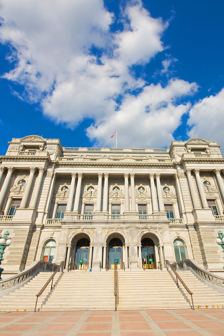 Where do they find the space? The Library of Congress houses more than 100 million books, maps, recordings, manuscripts, films and photos including items from Thomas Jefferson's personal collection.