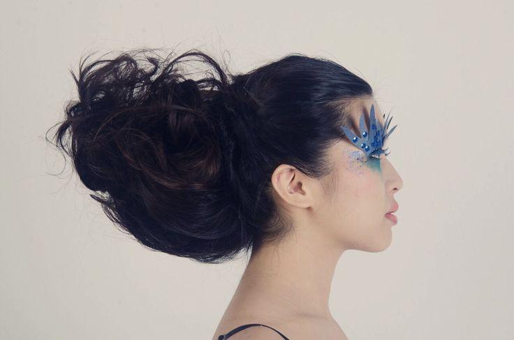 Beauty high fashion makeup hair creative blancheworld blanch fantasy art