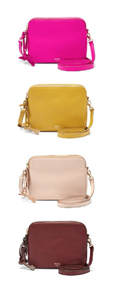 #Fossil SYDNEY Crossbody #colorcurious