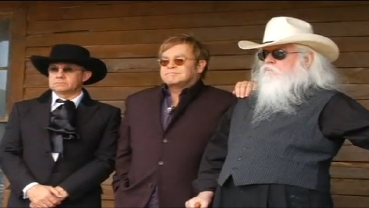The Union — with Bernie Taupin, Elton John and Leon Russel.