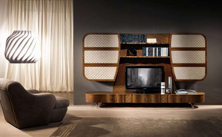 Mistral wall unit by Carpanelli Contemporary