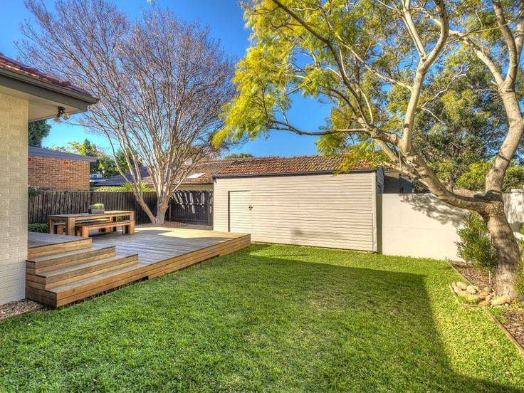 9 Bardwell Road MOSMAN. Deck and grass - renovation with wide appeal. www.domain.com.au
