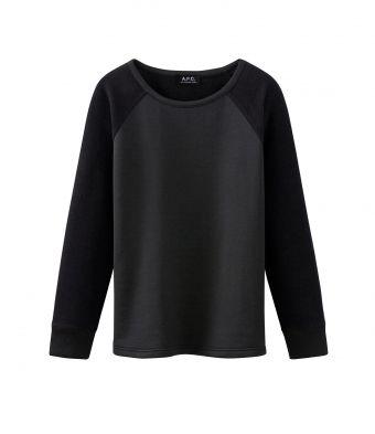APC Sweat-shirt base-ball bimatière
