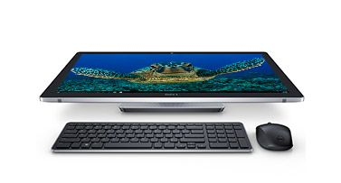 Dell Inspiron 24 i7459-7070BLK Signature Edition All-in-One 24 Display showing a sea turtle