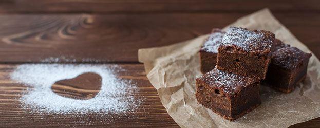 Recept voor de allerlekkerste gezonde brownies: glutenvrij, suikervrij, zuivelvrij.
