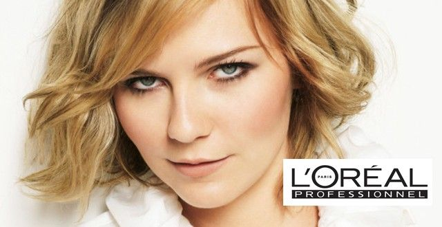Kirsten Dunst named as L'Oreal Professionel Spokesmodel http://amsterdam-ftv-blog.com/archives/20729