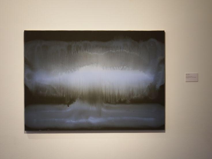 Matteo Montani, (Roma, 1972), Sotto un altro cielo, 2014, Olio su carta abrasiva / Öl auf Sandpapier, 67 x 95 cm