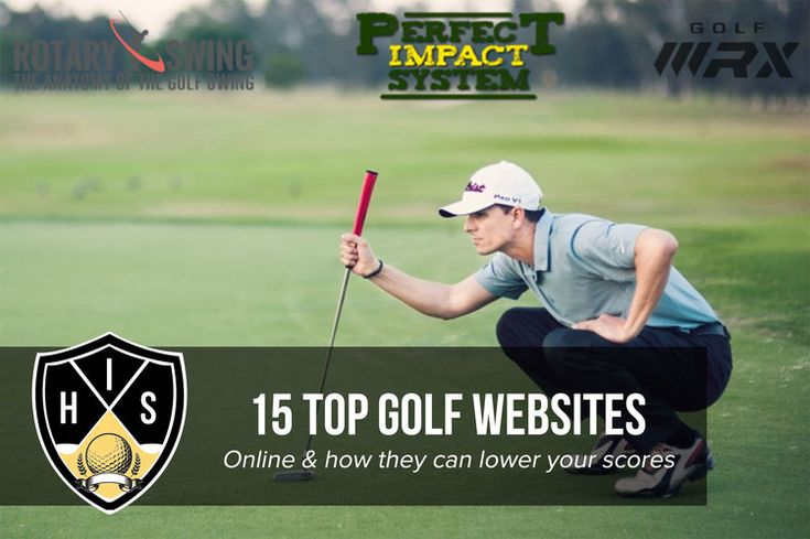 Top Golf Websites: Golf is one of the fastest growing sports in the world and combined with the internet finding a good website is a must. Here's a list of the 15 top golf websites that deliver on the latest news, golf instruction online, products and blogging.
