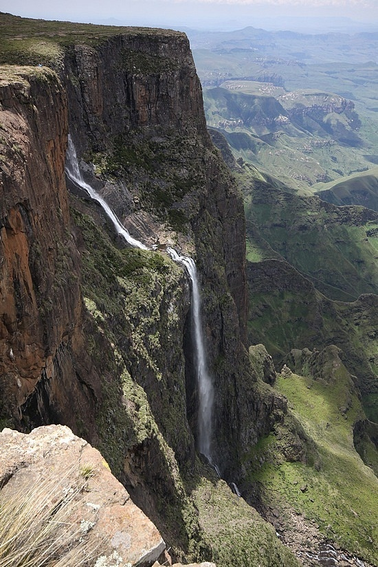 Tugela Falls (South Africa) - 2nd highest waterfall in the world at 3110 ft.