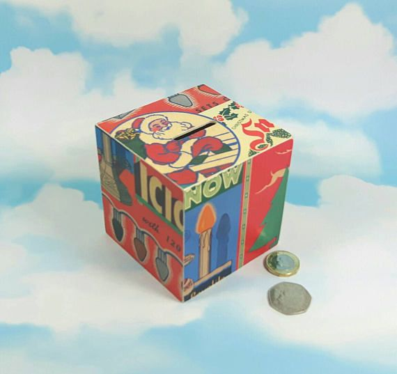 Check out this item in my Etsy shop https://www.etsy.com/uk/listing/463122514/father-christmas-money-box-kids-gifts