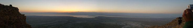 панорама Массада