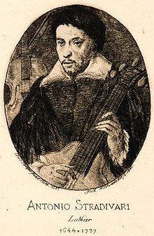 Antonio Stradivari ♦ Italian famous violin-maker.