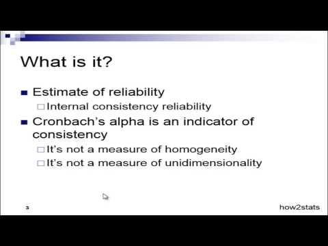 What is Cronbach's Alpha? - Explained Simply - YouTube
