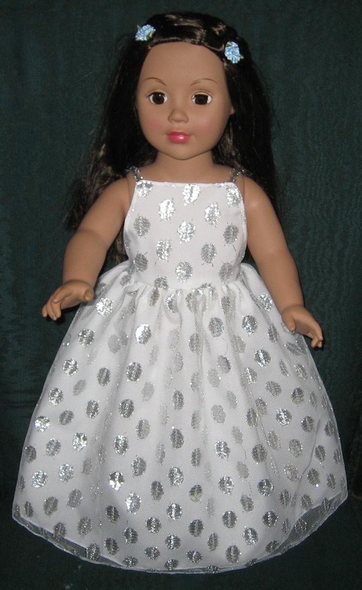 American Girl Doll prom dress Doll Fashion Pinterest