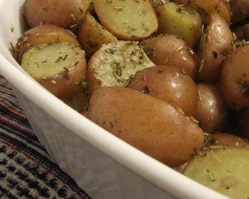 Pommes de terre au citron à la Grecque | The Little Potato Company