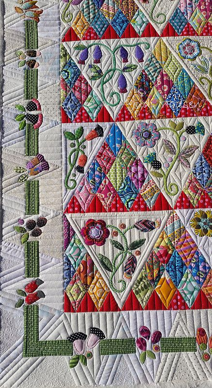 A2 -  http://www.greenfairyquiltsblog.com/2016/11/sweet-surrender-quilt.html
