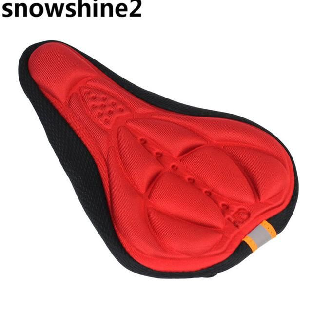 snowshine2 #3001 Cycling Bike 3D Silicone Gel Pad Seat Saddle Cover Soft Cushion free shipping wholesale