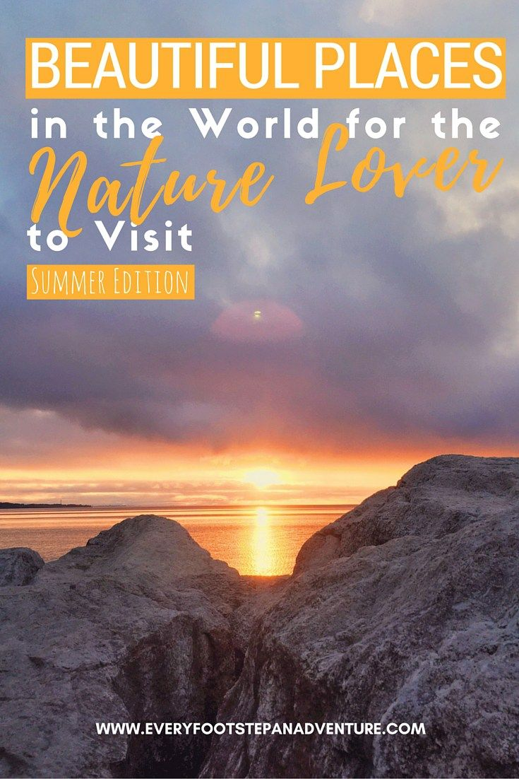 Beautiful Places in the World for the Nature Lover to Visit Summer Edition Bluffers Beach Sunrise | www.everyfootstepanadventure.com