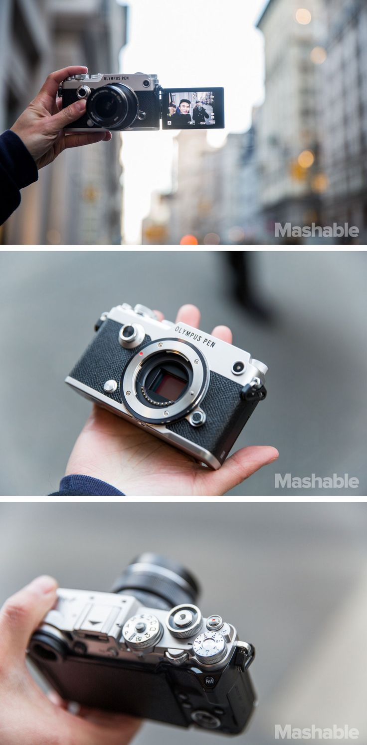 Say hello to the Pen-F, Olympus's new mirrorless darling camera