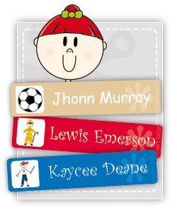 Labels for kids