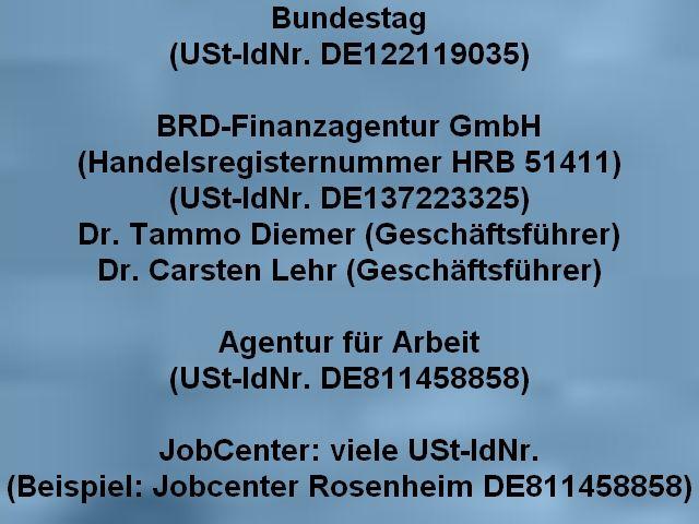Antrag Auf Erstattung Aller Gezahlten Steuern Finanzen Die Bundesrepublik Deutschland Bundesrepublik