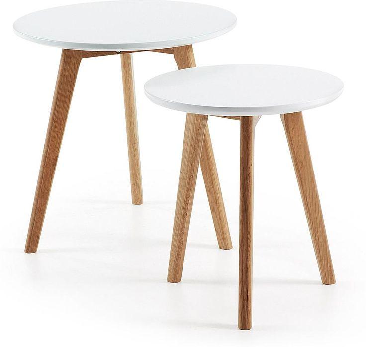LaForma KIRB Set Side Tables Ã