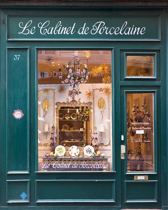 Fotografía París frente de la tienda en Saint Germain