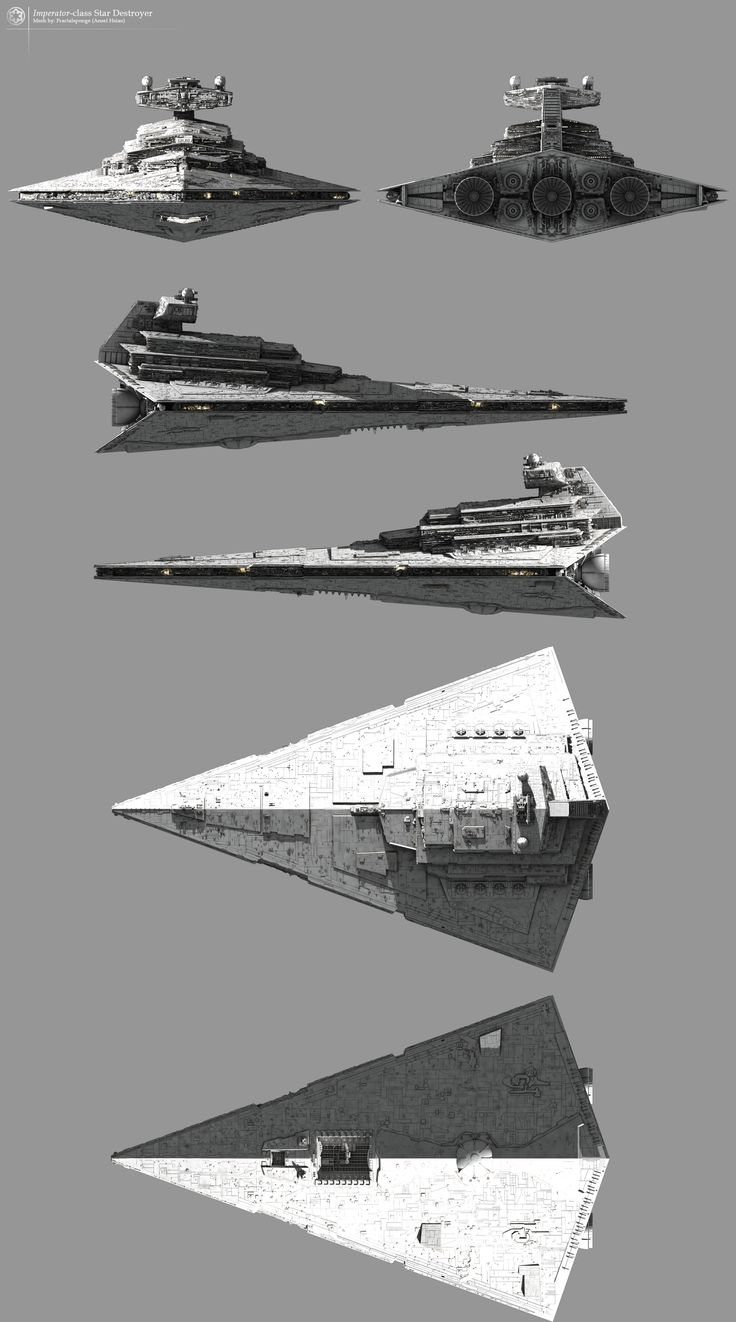 Imperator-class Star Destroyer – Fractalsponge.net
