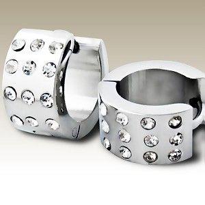 Steel Earrings B91143