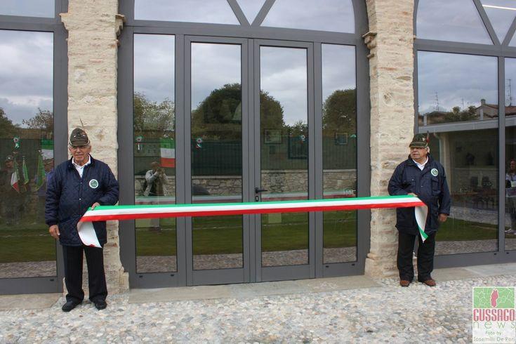 """Fotogallery """"Inaugurazione nuova sede Alpini"""" 2016 - http://www.gussagonews.it/fotogallery-inaugurazione-sede-alpini-ottobre-2016/"""