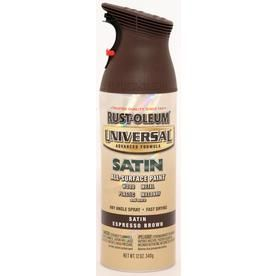 Rust Oleum  Oz Espresso Brown Satin Spray Paint