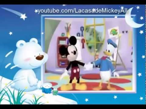 1000 images about mickey mause on pinterest donald o - Youtube casa mickey mouse ...