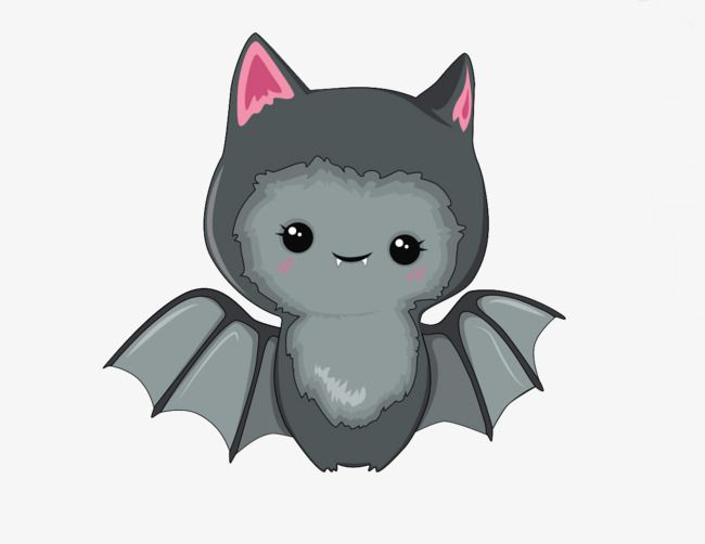 Kawaii Bat Monster in 2020 | Kawaii halloween, Cute bat ...
