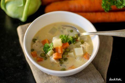 Dieser Gemüseeintopf ist allergiefreundlich, schnell, günstig und einfach. Ihr entscheidet selbst, ob ihr in vegan, vegetarisch oder mit Fleisch kocht.