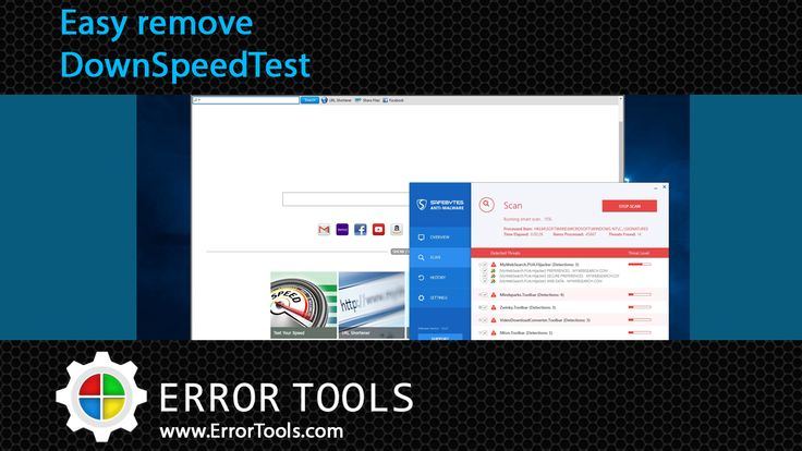 DownSpeedTest is a Browser Toolbar Extension for Google Chrome that allows users to check their internet speed and convert documents, however this speed test does not show appropriate worth, nor even close.