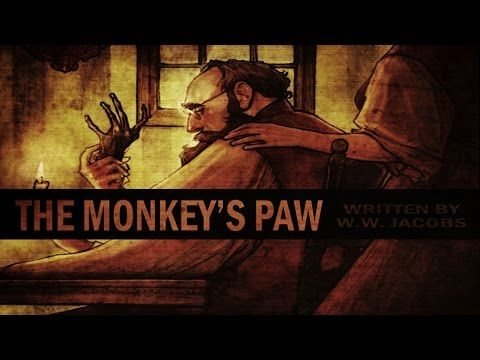 """This """"Monkey's Paw"""" audio recording will help teach this high school classroom favorite. Find more at http://www.elacommoncorelessonplans.com/the-monkeys-paw-movie-lesson-plan-and-other-video-resources.html."""