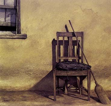 Shearer's Chair by Grahame Sydney for Sale - New Zealand Art Prints