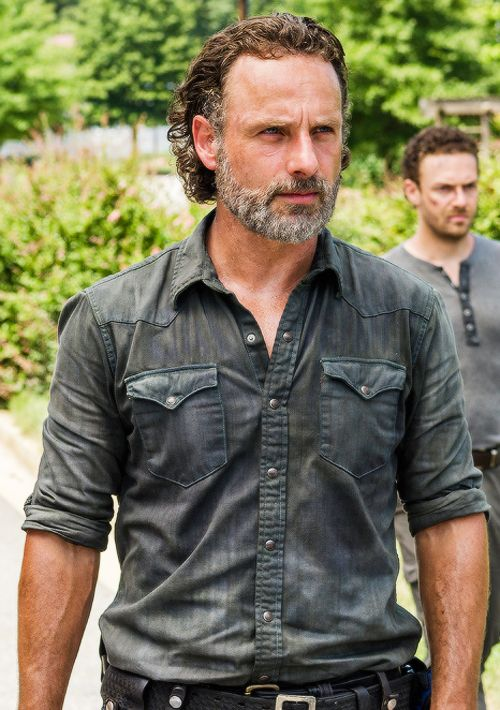 "Rick in 7x09 ""Rock in the Road"""
