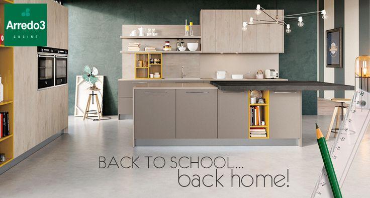 I nostri ragazzi stanno ritornando sui banchi di scuola proprio in questi giorni… quando a ora di pranzo tornano a casa, secondo voi, qual è la prima stanza in cui si catapultano affamati? wink emoticon  ...la nostra cucina ROUND è pronta ad accoglierli! http://www.arredo3.it/cucine-moderne/cucina-moderna-round/