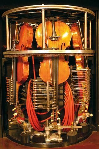 Wo die Maschine musiziert.