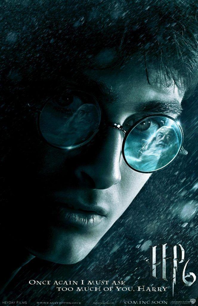 Harry Potter Hogwarts Taki 6 Yilinda Uzerinde Bu Kitap Melez Prens E Aittir Yazili Bir Kitap Bulur Harry Potter Hogwarts Film