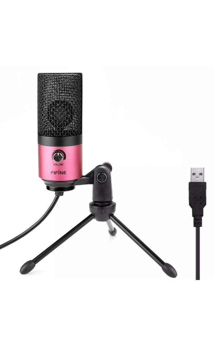 Fifine Usb Podcast Condenser Microphone Recording On Laptop, No Need Sound Card Interface and Phantom Power.(K669)