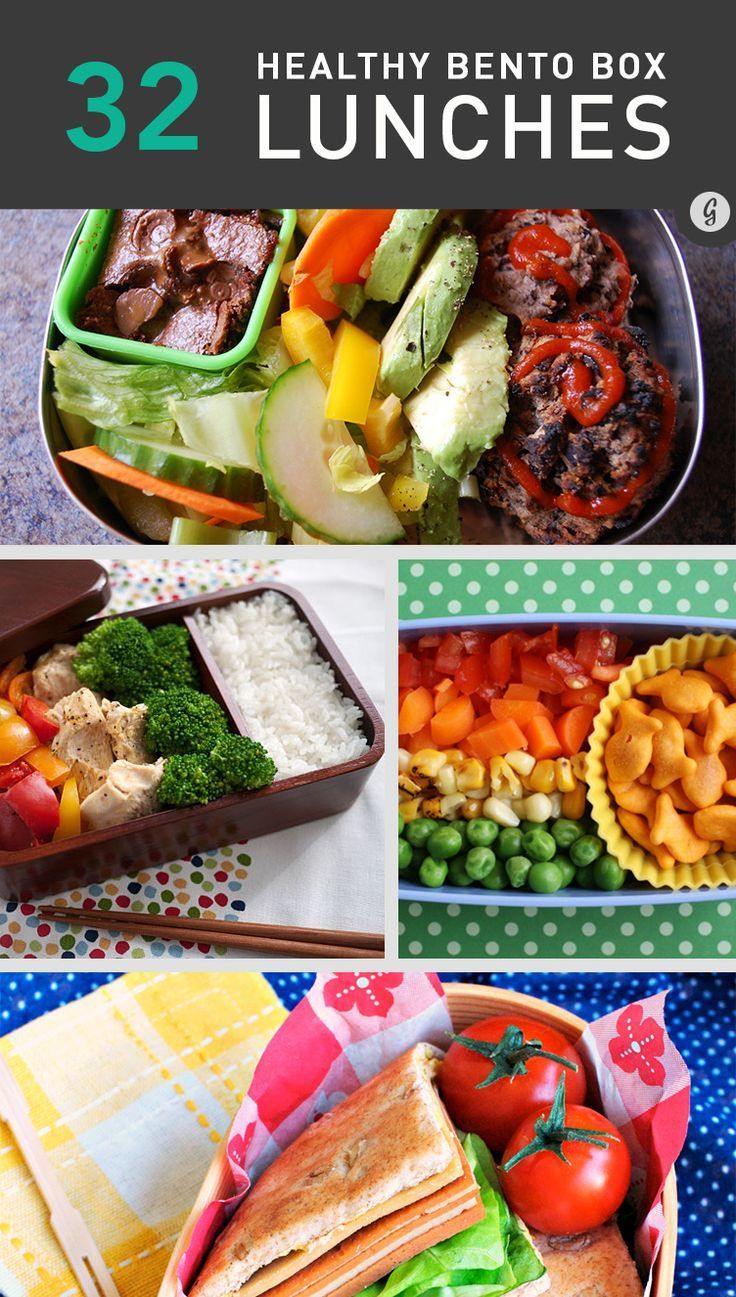 32 Healthy and Eye-Catching Bento Box Lunch Ideas #lunch #bentobox #healthy