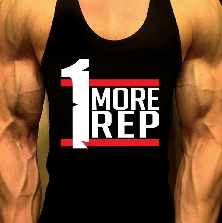 One More Rep Workout Tank, Mens Workout Tank, Mens Gym Shirt, Mens Gym Tank, Workout Clothes for Men,Muscle Tee, Mens Fitness Tank by MyFitnessApparel on Etsy
