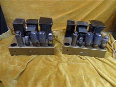 Ex BBC Leak TL12 Point One Valve Amplifiers - Good Working Order, used, for sale, secondhand, vintage hifi