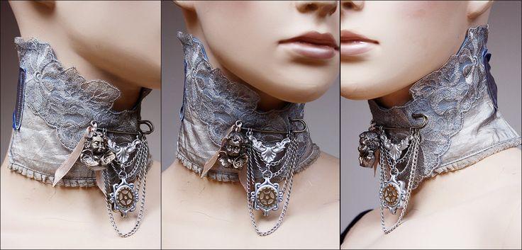 Cherub brooch neck corsage by Pinkabsinthe.deviantart.com on @deviantART
