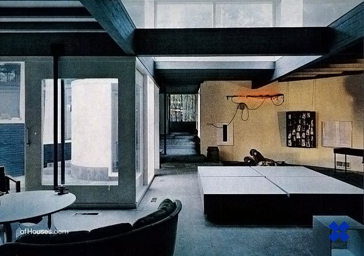 Gerrit Rietveld / Aldo Van Eyck /// House Visser /// Bergeyk, The Netherlands /// 1955-1956, 1967-1969 | Flickr - Photo Sharing!