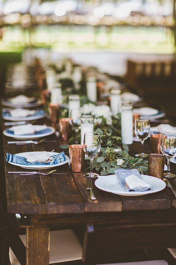 Handcrafted Orchard Ranch Wedding