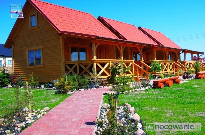 Nowe Domki Letniskowe o wysokim standardzie. Szczegóły na: http://www.nocowanie.pl/noclegi/leba/domki/131397/ #nocowaniepl #vacation #accommodation #sea #Poland